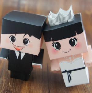 קופסת הפתעה חתן כלה
